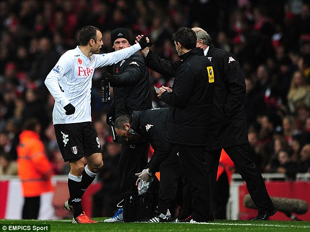 Bond: Berbatov enjoys the trust Jol shows him