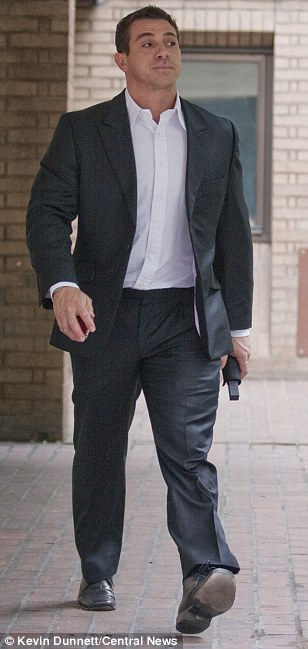 Jason Thomas (pictured) persuaded Luisa Smith to send him £175,000 by telling her he needed to pay off drug debts, it is alleged