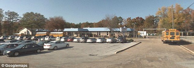 Anessa Dawn Olive Ferguson was a teacher at Maxwell Elementary School in Alabama (pictured)