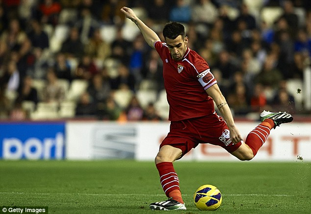 Reputation: Alvaro Negredo was the top Spanish scorer in La Liga last season with 25 goals