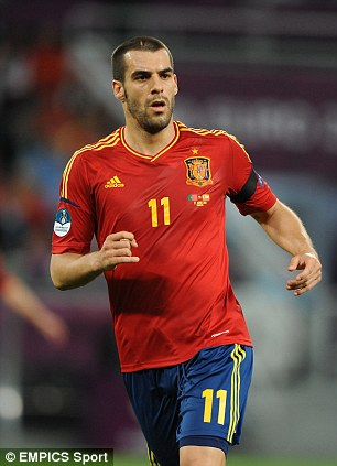 Spain's Alvaro Negredo
