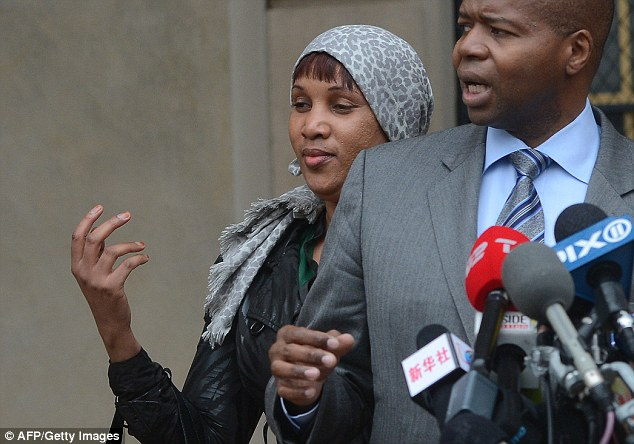 His accuser: Nafissatou Diallo, left, a housekeeper from Guinea in her early thirties, told police in 2011 that Strauss-Kahn had forced her to perform oral sex