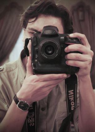 Tragic: Mr Assem was working as a photographer for an Egyptian newspaper