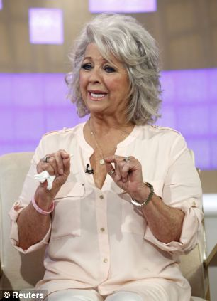 Crumbling: Paula Deen appearing on the 'Today' show giving a tearful interview after admitting using racial slurs led to the disintegration of her comfort foods empire