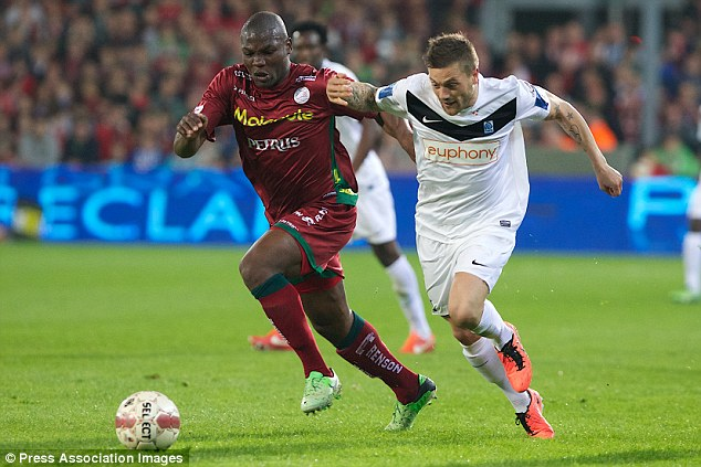 In demand: Malanda is the subject of interest from Fulham, Everton and Arsenal