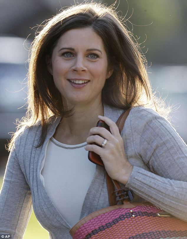 CNN anchor Erin Burnett is currently attending the Allen & Company Sun Valley Conference in Idaho