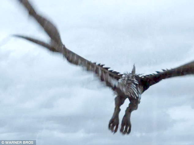 Dragons: The fire breathing creatures are just one of the hazards in The Seventh Son!
