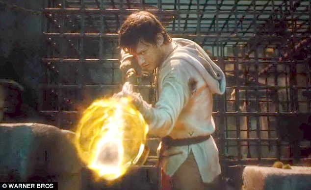 Magical: Ben Barnes has special powers in the fantasy blockbuster