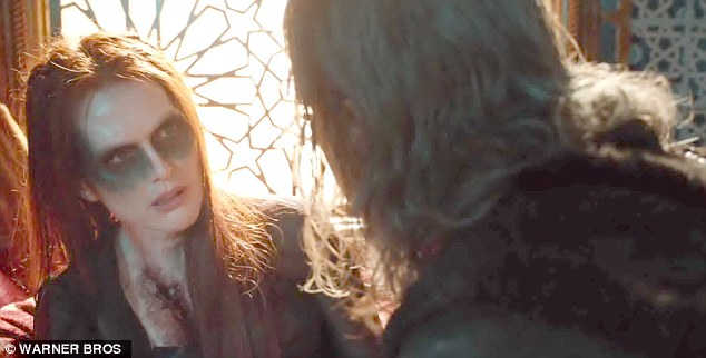Epic battle: Jeff Bridges Master Gregory has to defeat Julianne Moore's Mother Malkin