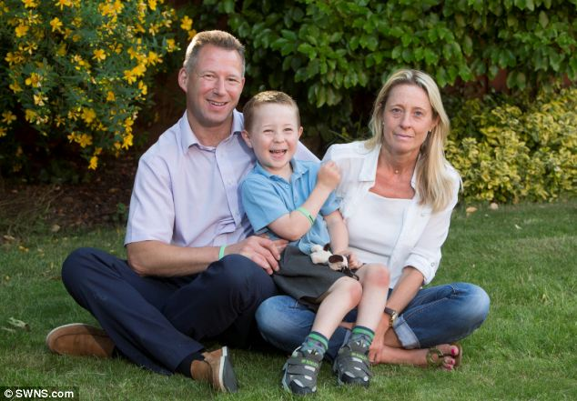 The family will use the money to pay for Brecon to have surgery in the U.S. The treatment should allow him to take his first unaided steps and to run around with his friends