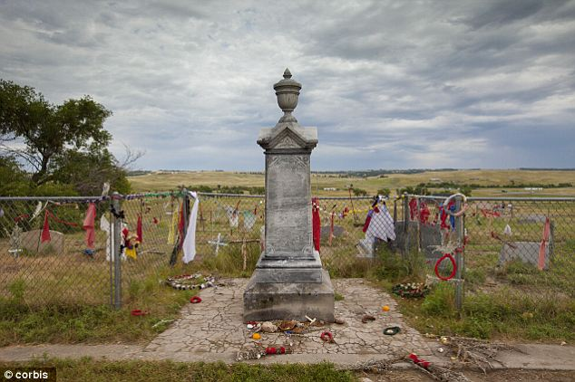 Commemoration: Wounded Knee is now a National Historic Landmark but Depp thinks it should belong to the Native Americans who once lived on the land