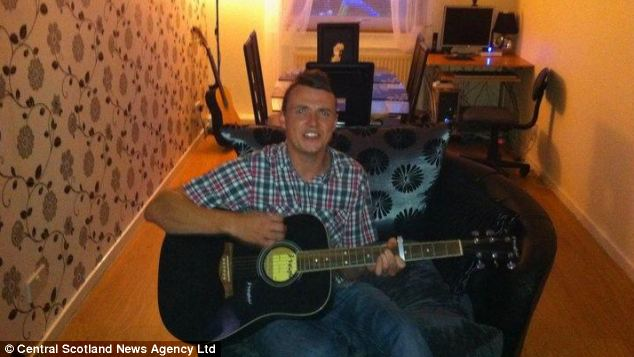 Police are investigating the 31-year-old's death. He fell from a balcony on the holiday island. Family tributes to Mr Knapp say he was a loving father and keen guitarist who will be missed