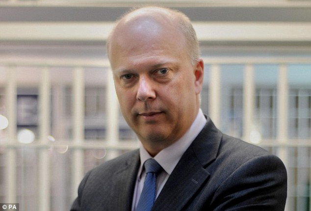 Indefensible: Justice Secretary Chris Grayling said G4S had rejected a demand for a new forensic audit