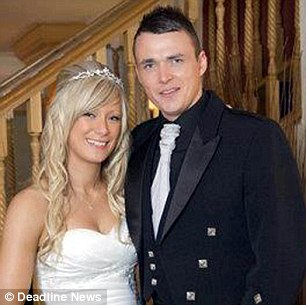 Craig Knapp was on holiday with his wife Lisa and their three children in Magaluf. The couple married two years ago