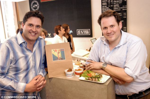 The school lunch plan by Henry Dimbleby (right) and co-founder John Vincent will be launched today