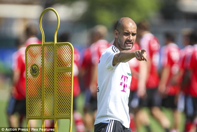 Leave me alone: Guardiola is frustrated by the remarks and demanded Barcelona allow him to move on with his career