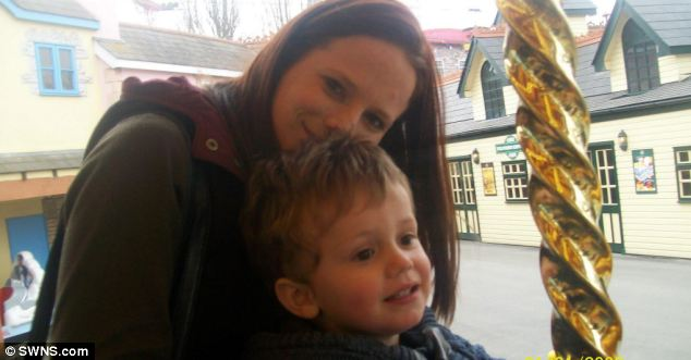 Found dead: Katharine Hooper, who went by the name of Kat, and her son Samuel both died on Friday