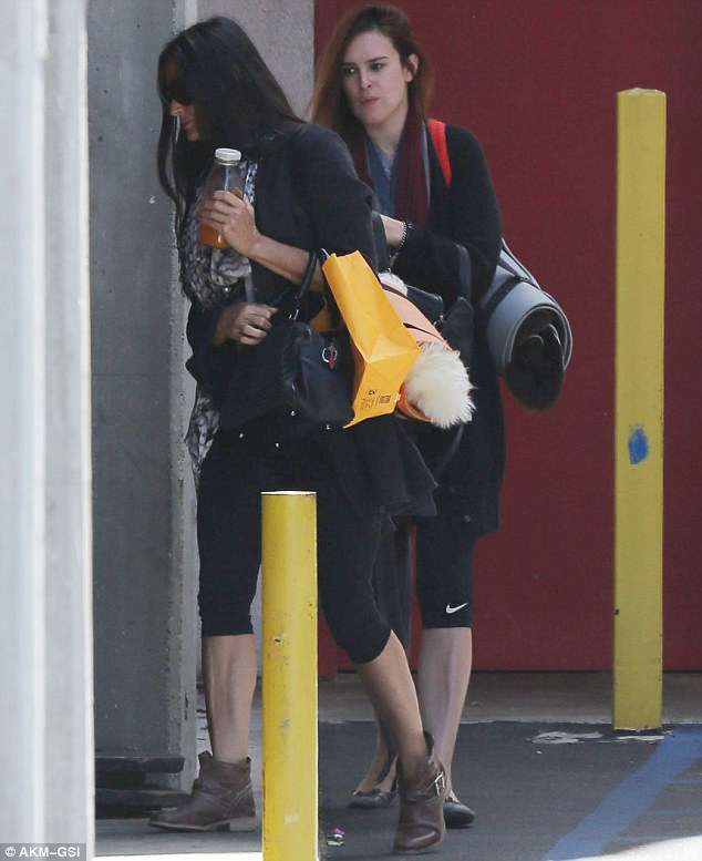Their thing: Demi and Rumer have been spotted at yoga together increasingly