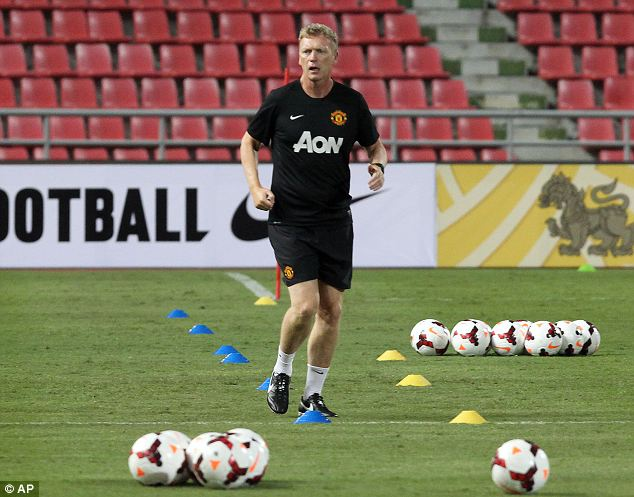 New era: David Moyes will pick his first team to face Thailand's Singha All-Stars on Saturday