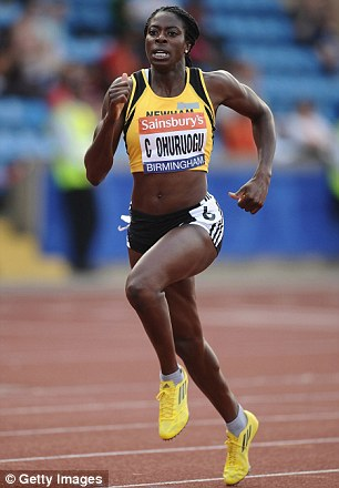 Stride forward: Christine Ohuruogu