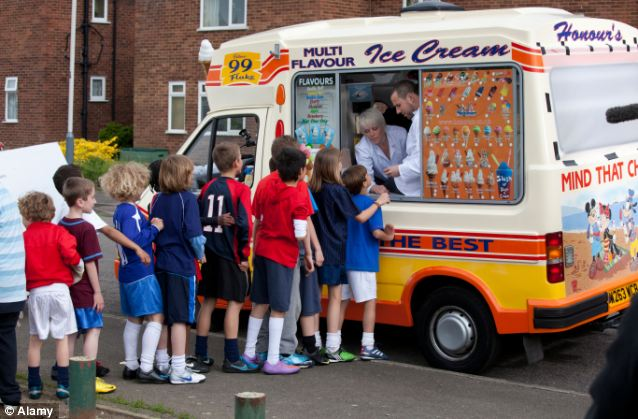 Nightmare: The ruling that ice-cream vans can play their chimes a bit longer brought back unhappy memories for Jack Straw