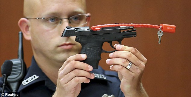 It's the law: The state of Florida will return to Geroge Zimmerman the gun he used to shoot Trayvon Martin