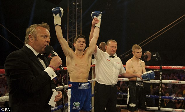 Bright future: The win rounds off a year which saw Campbell win the Olympic gold medal in 2012