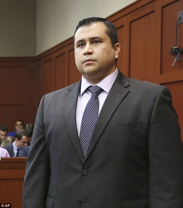 Free man: George Zimmerman was acquitted of all charges in the killing of Trayvon Martin