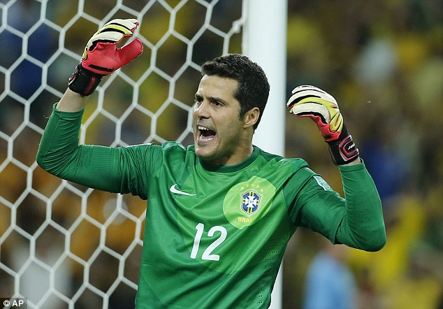 heading back to Italy: Julio Cesar has joined Napoli on loan