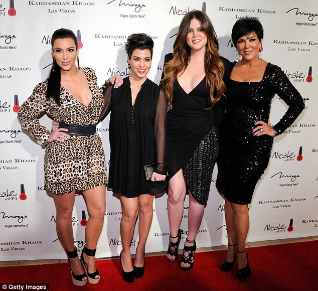 Slammed: Ellen accuses the Kardashian women of spreading lies about her in their reality show Keeping Up With The Kardashians
