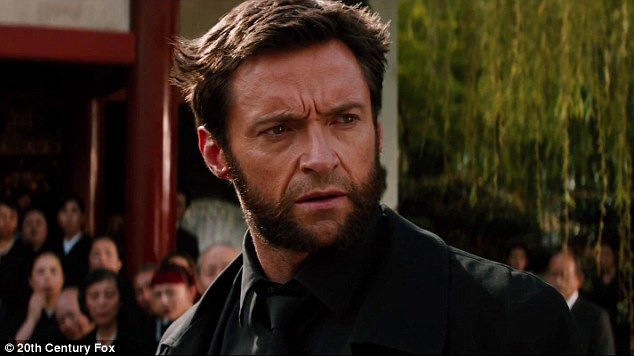 Hugh Jackman as Wolverine in James Mangold's forthcoming superhero film The Wolverine