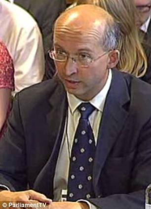 William Nye, Principal Private Secretary to the Prince of Wales and the Duchess of Cornwall, was grilled by MPs