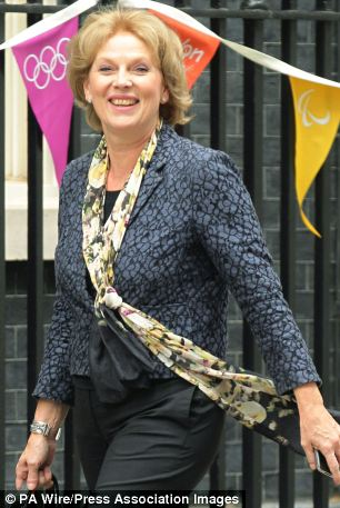 Sweet ban: Public health minister Anna Soubry calls for supermarkets to stop the 'guilt lanes'