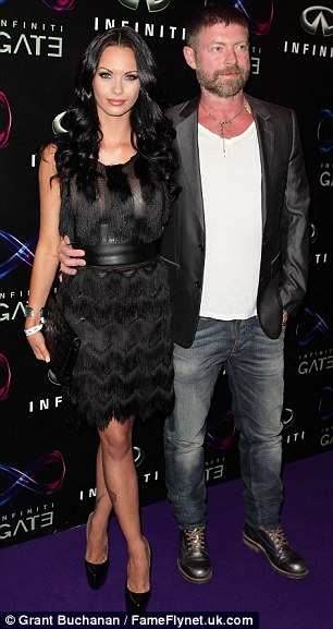 Married: Lee Stafford is whisking his bride of six months, glamour model Jessica-Jane Clement, to New York