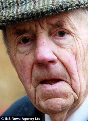 Old Etonian Francis Cory-Wright, 88, came out of prison - where he met Ian McLoughlin - eight months ago