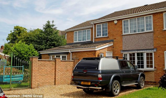 Neighbours at the Taylor family home in Barwell, Leicestershire, paid tribute to a 'truly lovely girl'