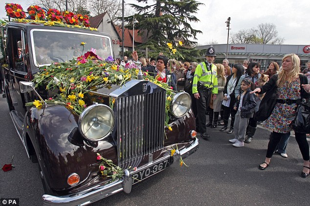 Jade's tragic story captured the hearts of people across the country and her funeral saw well-wishers throw flowers at her hearse during the procession through Loughton Essex