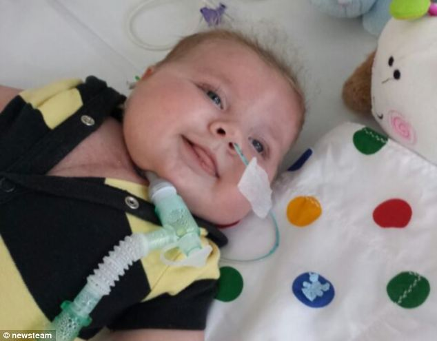 He was put on the heart transplant list but his parents were told to expect the worst and were even advised to turn off his life support machine so that he could 'die with dignity'