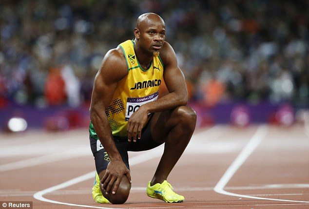 Doubts: Former 100m world record holder Powell looks set to face a ban if his positive test is confirmed