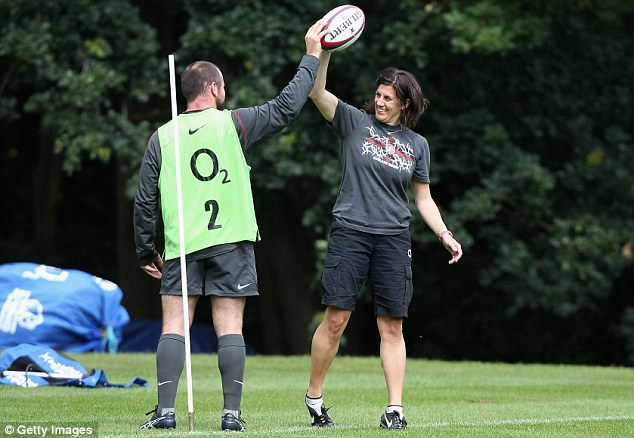 Experienced: Faye Downey has also worked with the England rugby team