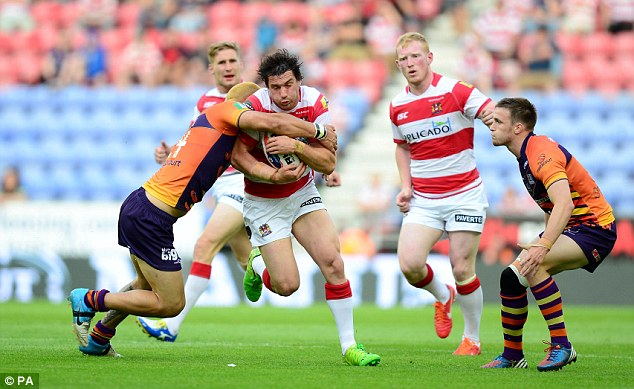 Favourable draw: Wigan face London Broncos in the semi-finals