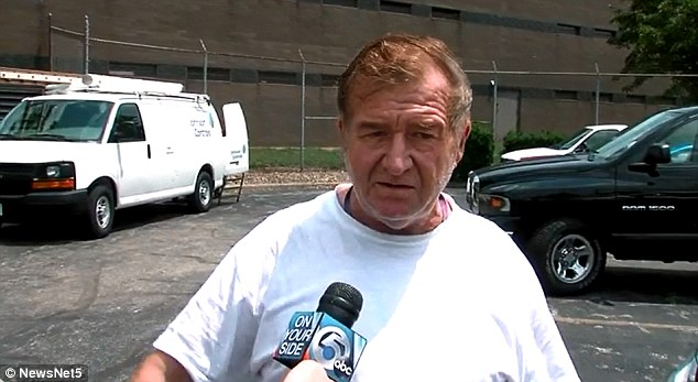 Dealer: Skubic says he bought the explosives from Wayne Jones (pictured), from whom he's purchased explosives for years