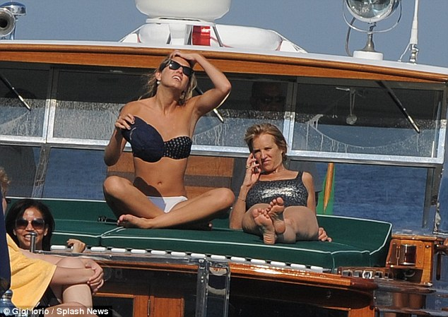 Kerry Kennedy and her daughter Mariah Matilda Cuomo