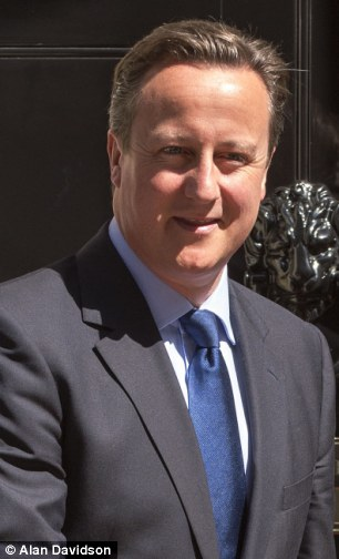 David Cameron is up in the polls
