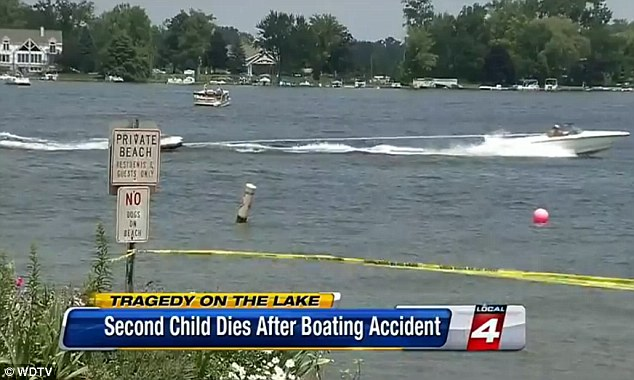Sylvan Lake: The boat driver said he saw the jet ski but not the tube on Sylvan Lake, pictured