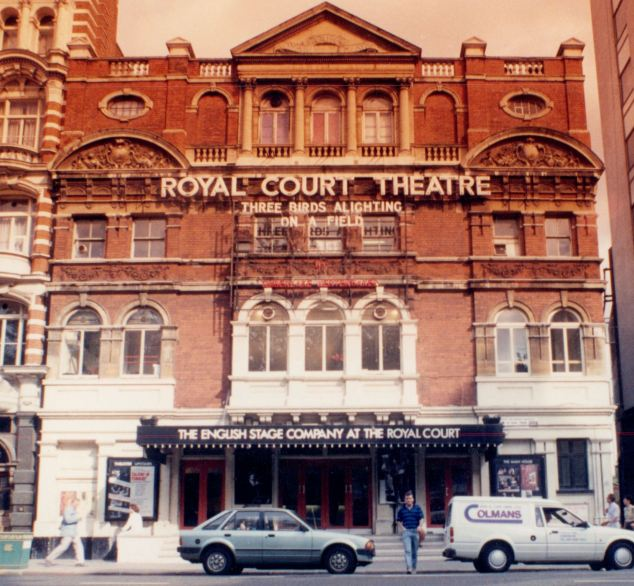 The actor was captured on CCTV walking from the stage door of the theatre and turning left as if walking towards Sloane Square Tube station