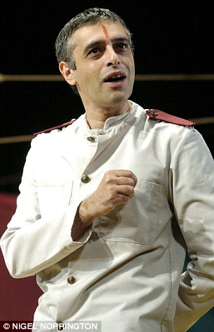 """PAUL BHATTACHARJEE AS MALVOLIO IN """"TWELFTH NIGHT"""" AT THE ALBERY THEATRE PICTURE BY NIGEL NORRINGTON"""