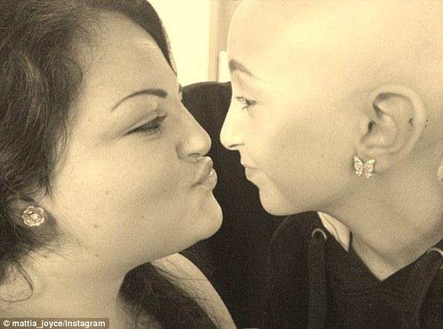 Sister love: Talia with her sister, Mattia Joyce Castellano