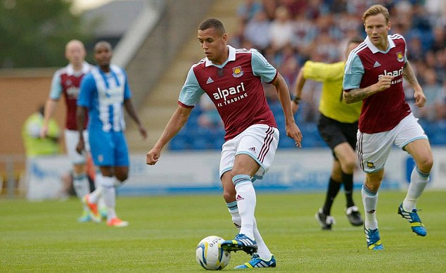Talented: Ravel Morrison has featured regularly throughout pre-season