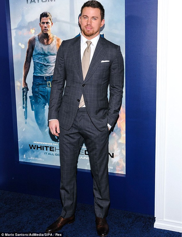 Coming in second: Channing Tatum scored an impressive year, thanks to the success of Magic Mike